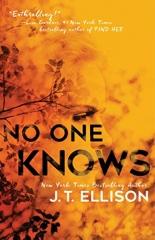 J.T. Ellison: No One Knows
