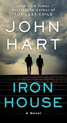 """John Hart: Iron House<a href=""""https://amzn.to/2WOjIm9""""> <img border=""""0"""" alt=""""Amazon Link"""" src=""""https://dkwall.com/wp-content/uploads/2020/12/available_at_amazon_en_vertical_rev.png"""" style=""""float:right;height:50px;"""" /></a>"""