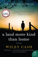 """Wiley Cash: A Land More Kind Than Home <a href=""""https://amzn.to/3siwQyv""""> <img border=""""0"""" alt=""""Amazon Link"""" src=""""https://dkwall.com/wp-content/uploads/2020/12/available_at_amazon_en_vertical_rev.png"""" style=""""float:right;height:50px;"""" /></a>"""
