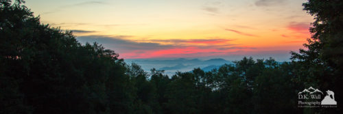 Sunrise from Maggie Valley
