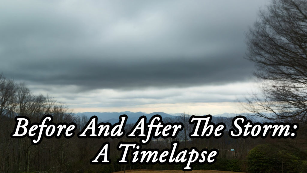 Before And After The Storm: A Timelapse