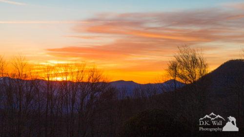 Brilliant Orange Sunrise - February 13 2017