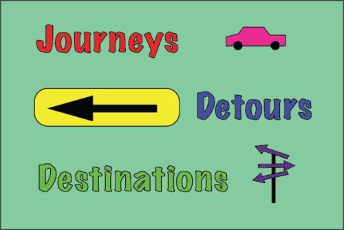 Journeys, Detours and Destinations