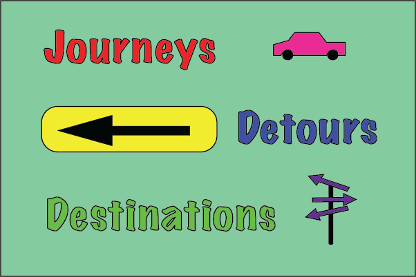Journeys, Detours and Destinations