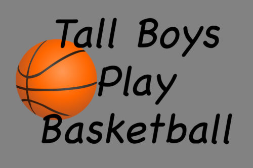 Tall Boys Play Basketball