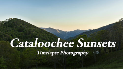 Cataloochee sunsets