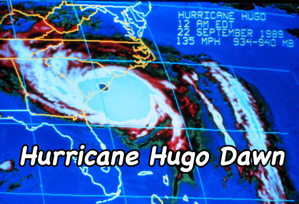 Hurricane Hugo Dawn - Courtesy of the National Oceanic and Atmospheric Administration/Department of Commerce