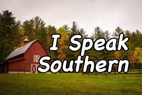 I Speak Southern