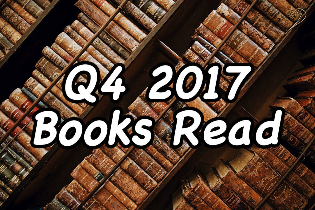 Q4 2017 Books Read