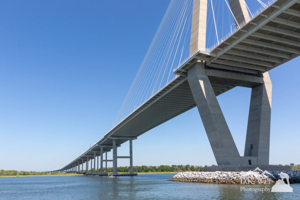 Another view of the Arthur Ravenal Jr. Bridge you don't normally see.