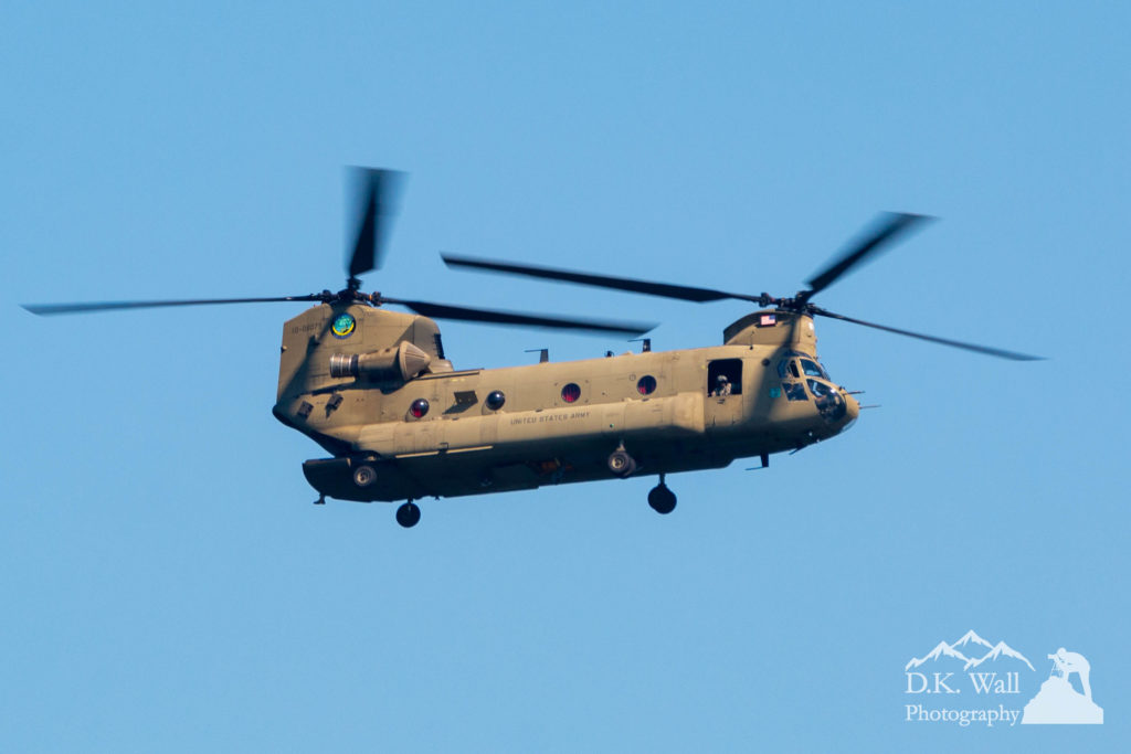 A patrolling Chinook