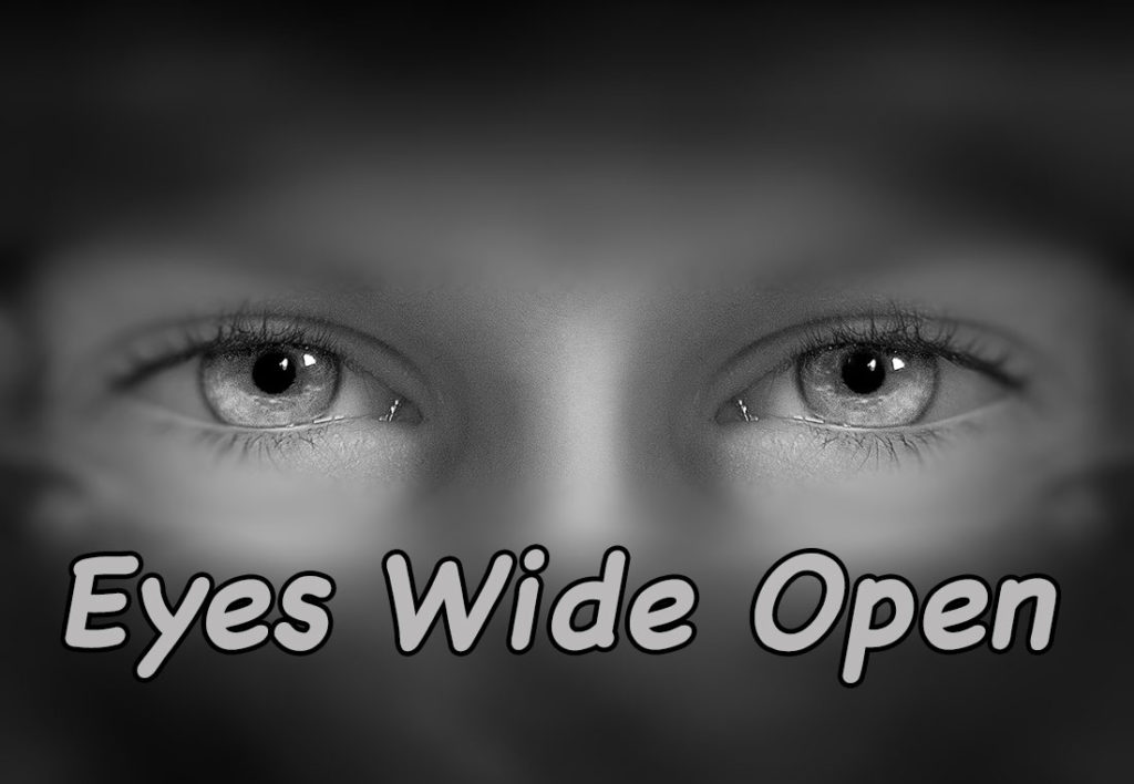 Eyes Wide Open Title