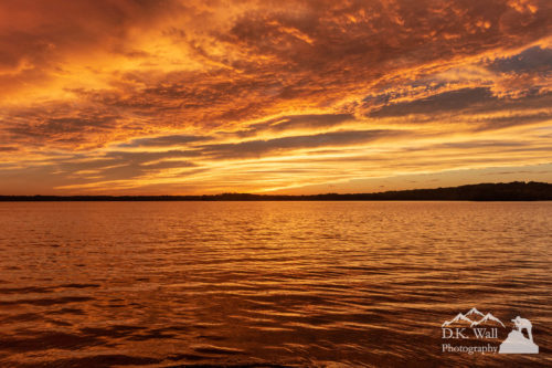 Percy Priest Lake Sunset | September 27 2018