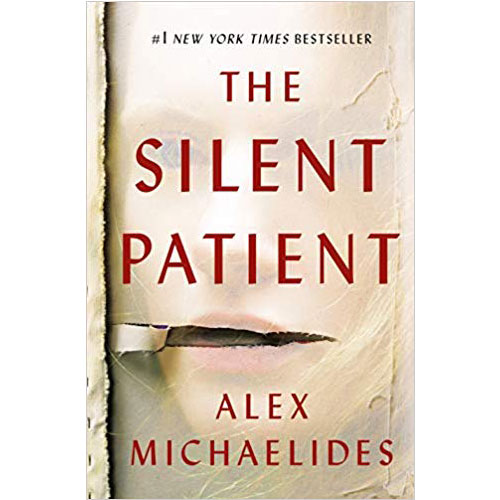 Alex Michaelides The Silent Patient Square