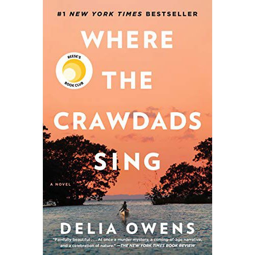 Delia Owens Where the Crawdads Sing Square