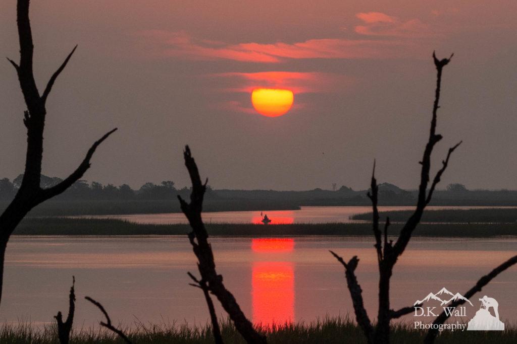Fisherman at sunrise