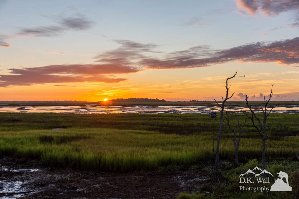 A magical Murrells Inlet Sunrise