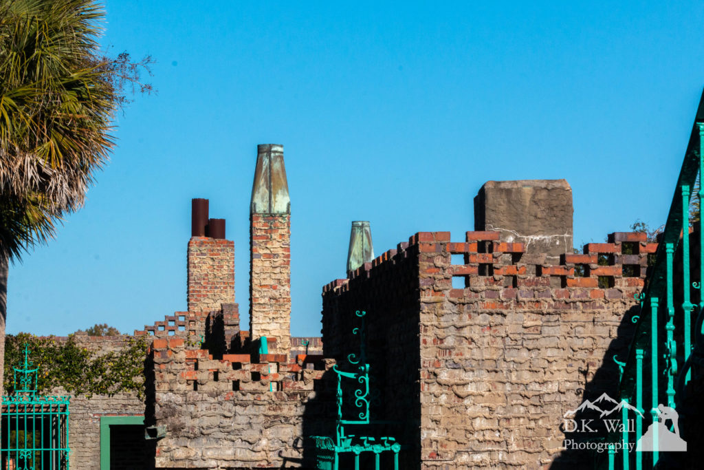 Some of the chimneys of Atalaya.