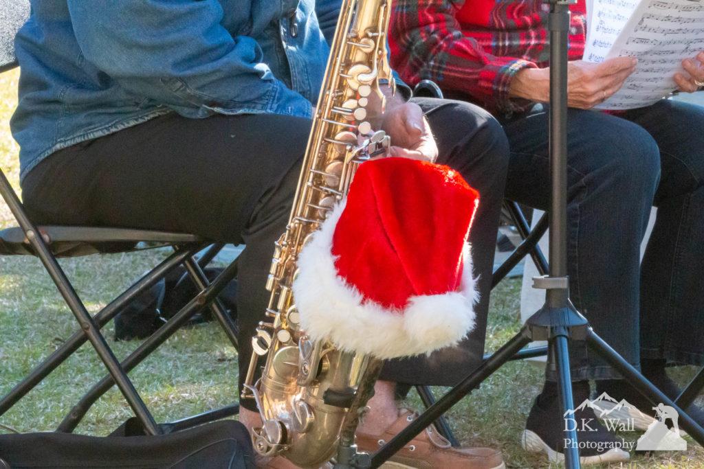 Santa Saxophone