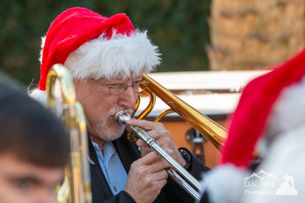 Trombone in the Christmas Spirit.