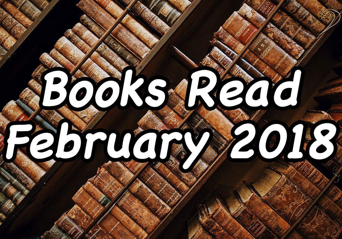 Books Read February 2018