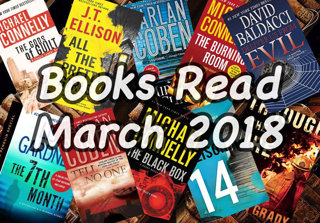 Books Read March 2018